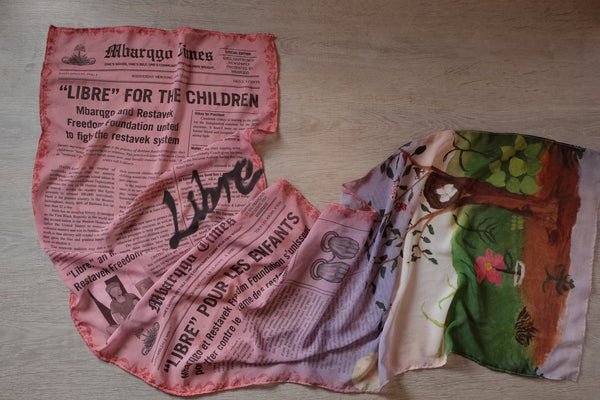 Le Journal Libre Scarf (Rose)