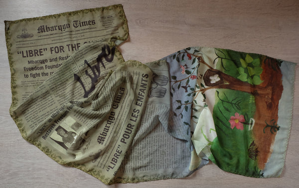 Le Journal Libre Scarf (Loden)