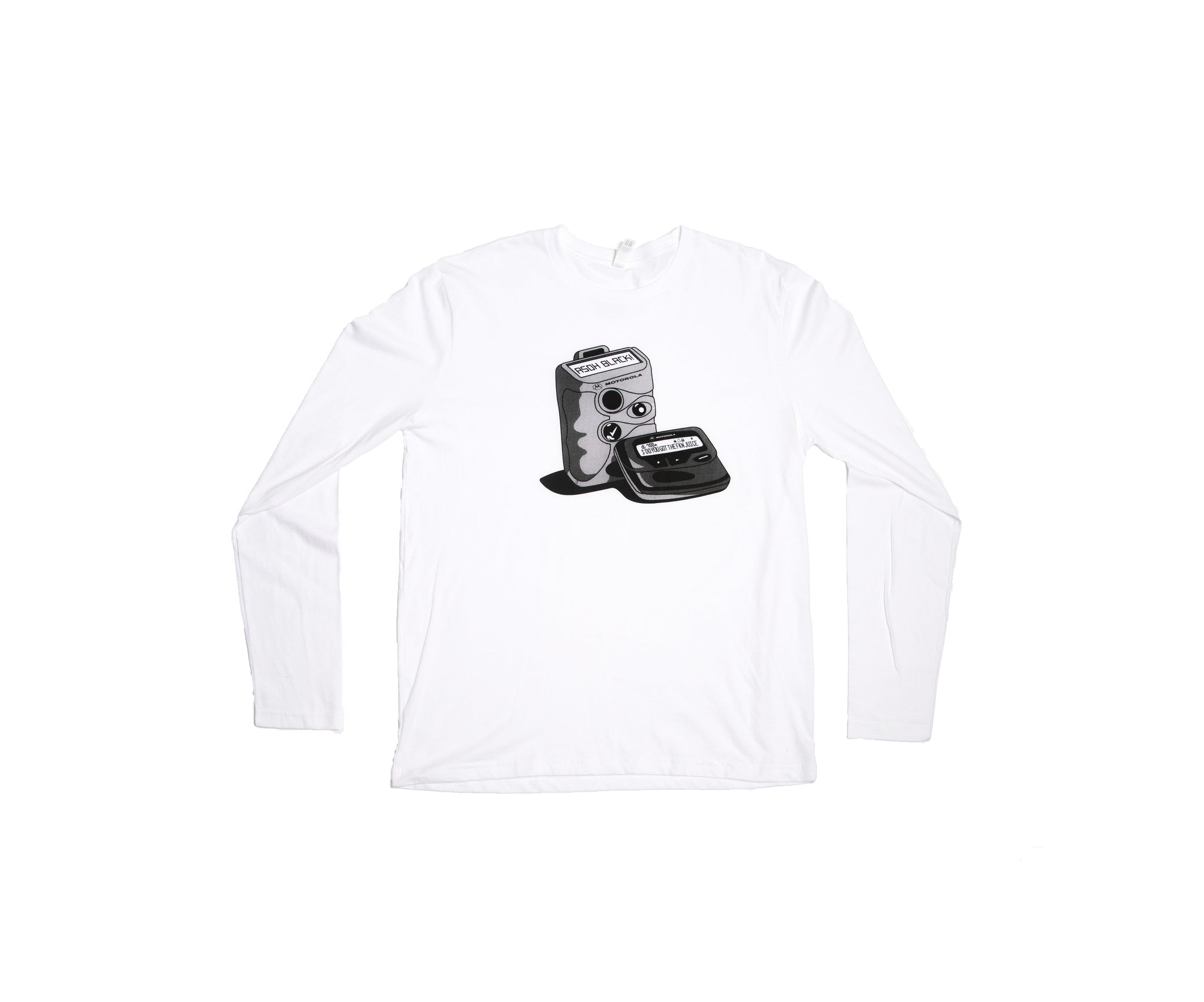 Vintage Beeper Long Sleeve Tee