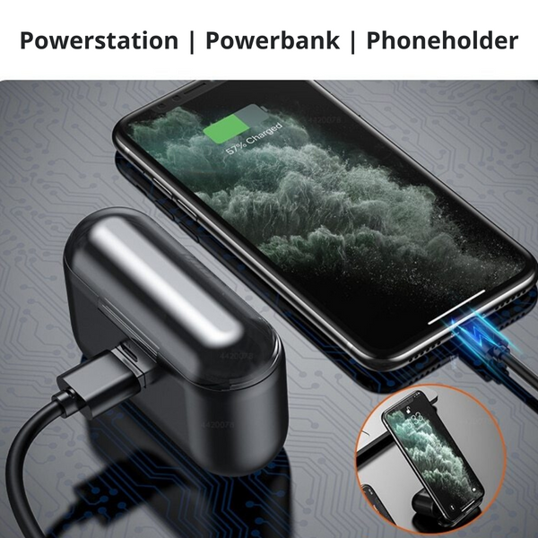 Earbuds | Waterproof & Oplaadcase en powerbank in-één | Nu 1+1 GRATIS
