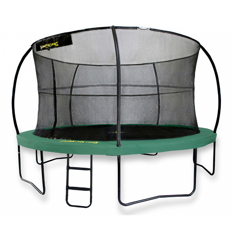 Jumpking trampoline met net en ladder JumpPod Deluxe 305 cm