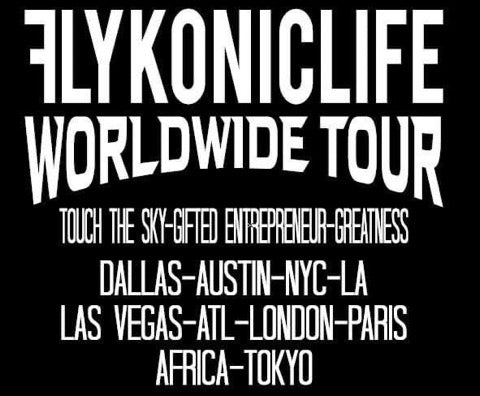 Flykonic Worldwide Tour
