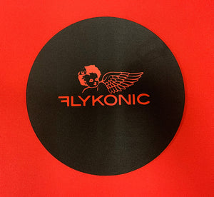 Flykonic Angel Round Mouse Pad