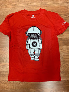 Flykonic Astronaut Tee in Red