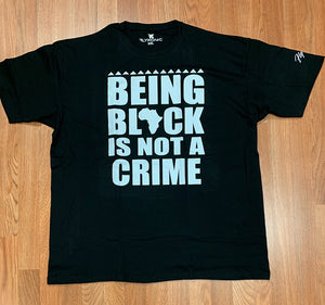 Flykonic Being Black Is Not A Crime Tee