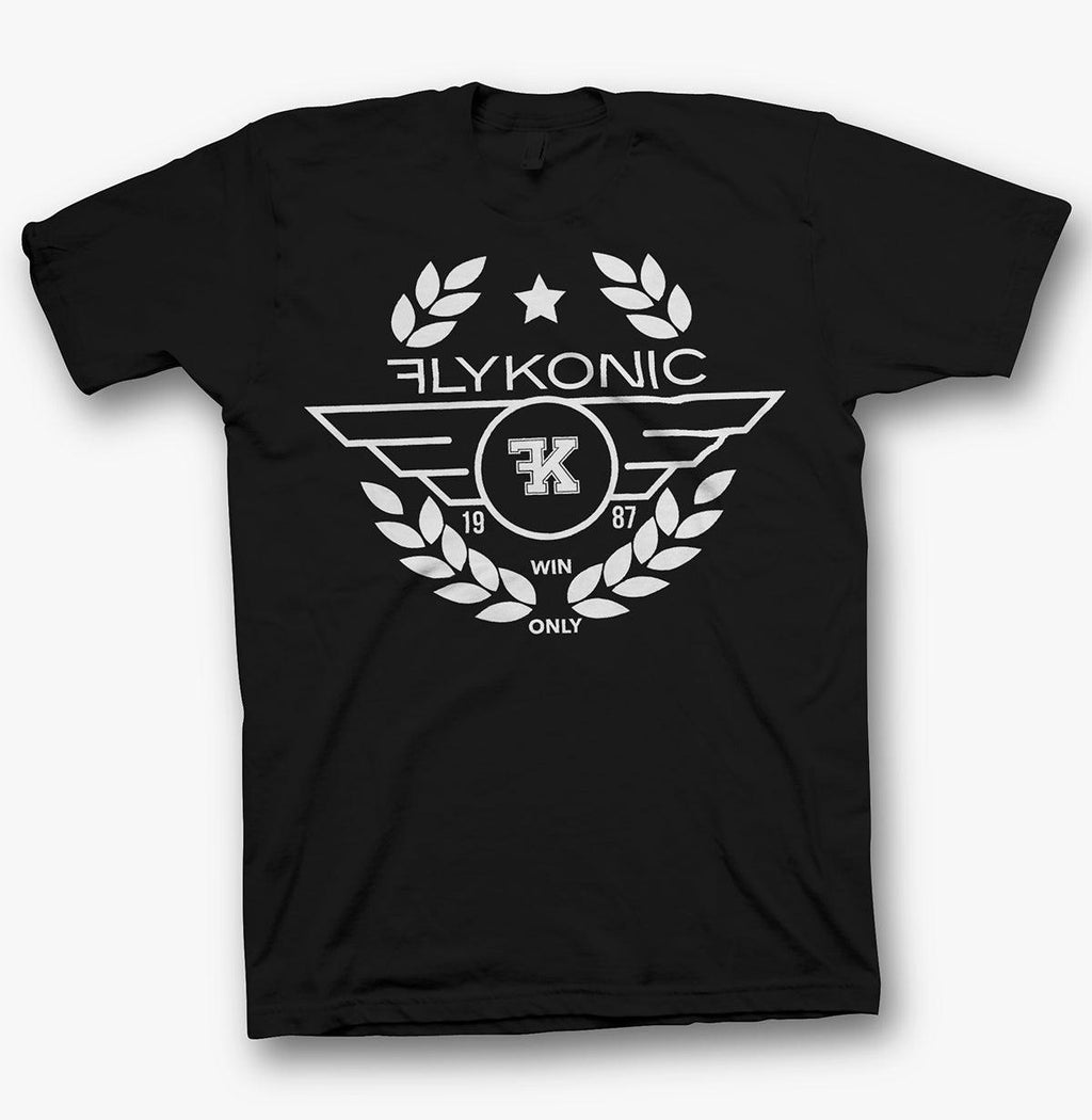 Flykonic Brand Win Only Tee