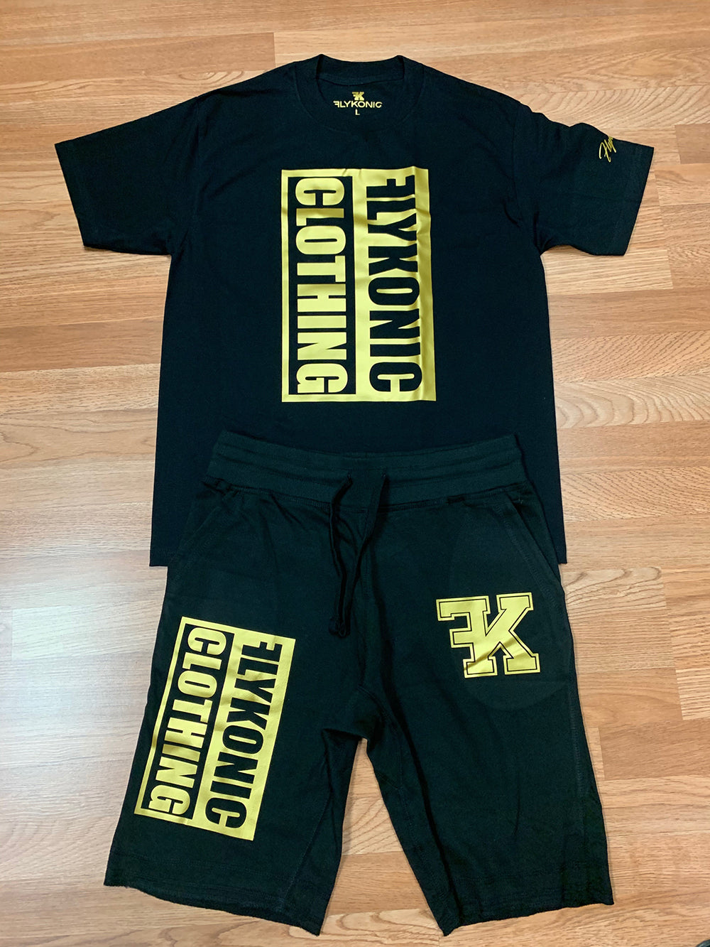 Flykonic Clothing Short Set Outfit