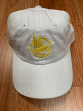 Load image into Gallery viewer, Flykonic Yacht Club Dad Hat - Yellow/White