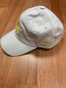 Flykonic Yacht Club Dad Hat - Yellow/White