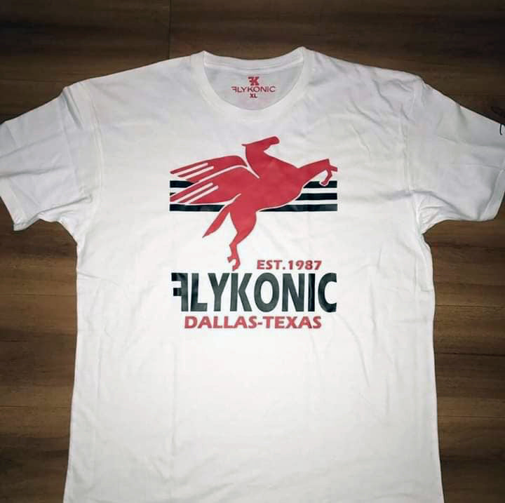 Flykonic Dallas-Texas Tee