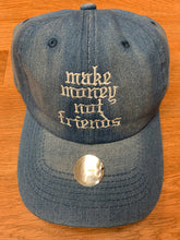Load image into Gallery viewer, Flykonic Denim Make Money Not Friends Hat