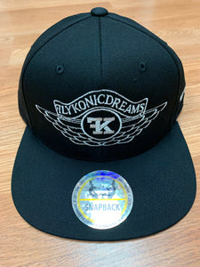 Flykonic Dreams Snapback Black Hat