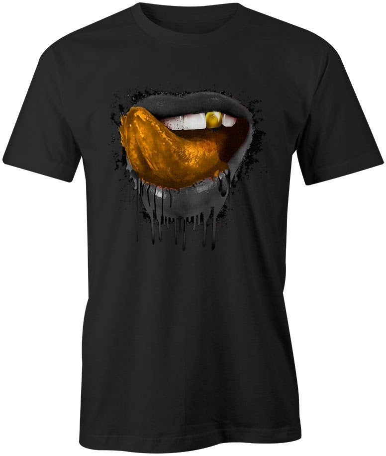 Flykonic Drip Lips Gold and Black