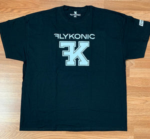 Flykonic FK Tee on Black
