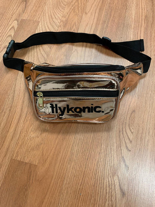 Flykonic Fanny Pack - Gold/Black