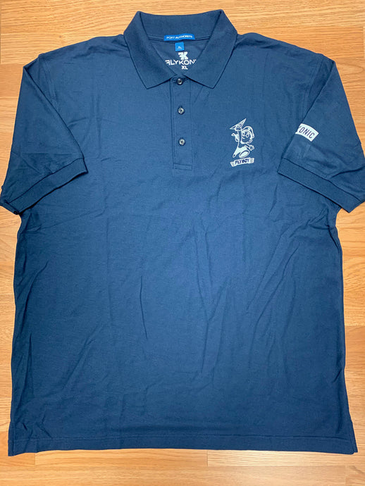 Flykonic Flyboy Polo in Blue