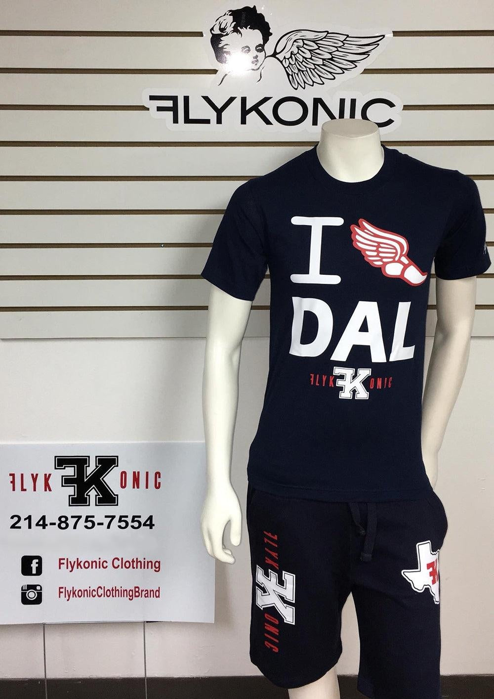 Flykonic I Run Dallas Short Set
