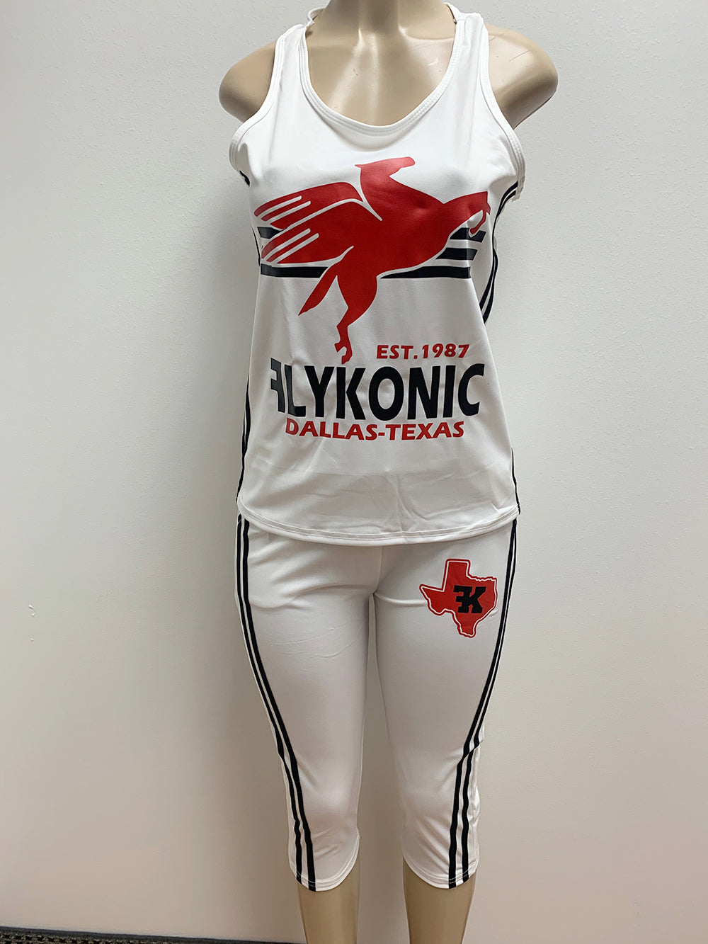 Flykonic Ladies 2 Piece Workout Set
