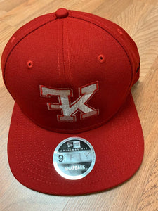 Flykonic FK Snapback in Red and White