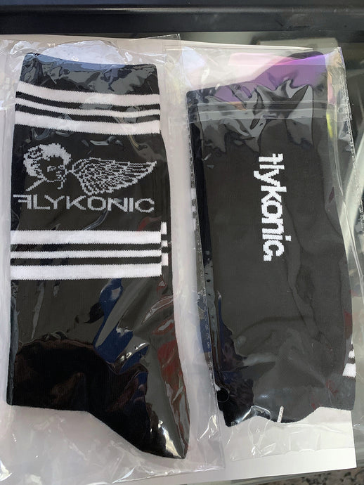 Flykonic Socks - Black