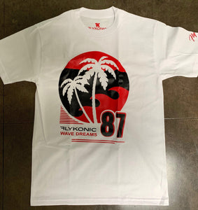 Flykonic Wave Dreams 87 Tee