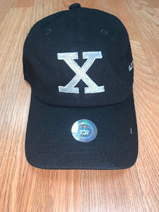 X Dad Hat - White on Black