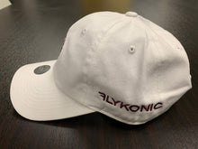 Load image into Gallery viewer, Flykonic Yacht Club Dad Hat on White Maroon Stitching