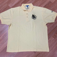Load image into Gallery viewer, Flykonic Yacht Club Polo - Light yellow with black embroidery logo