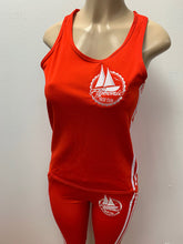 Load image into Gallery viewer, Flykonic Yacht Club - Ladies Fitness Outfit in Red