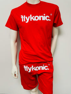 Red Flykonic Shortset