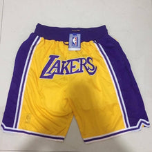 Load image into Gallery viewer, Just Don NBA Lakers Shorts