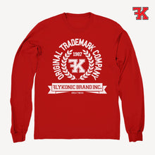 Load image into Gallery viewer, Flykonic crew neck sweater red