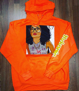 Flykonic Dope Chick Smart Girl Hoodie