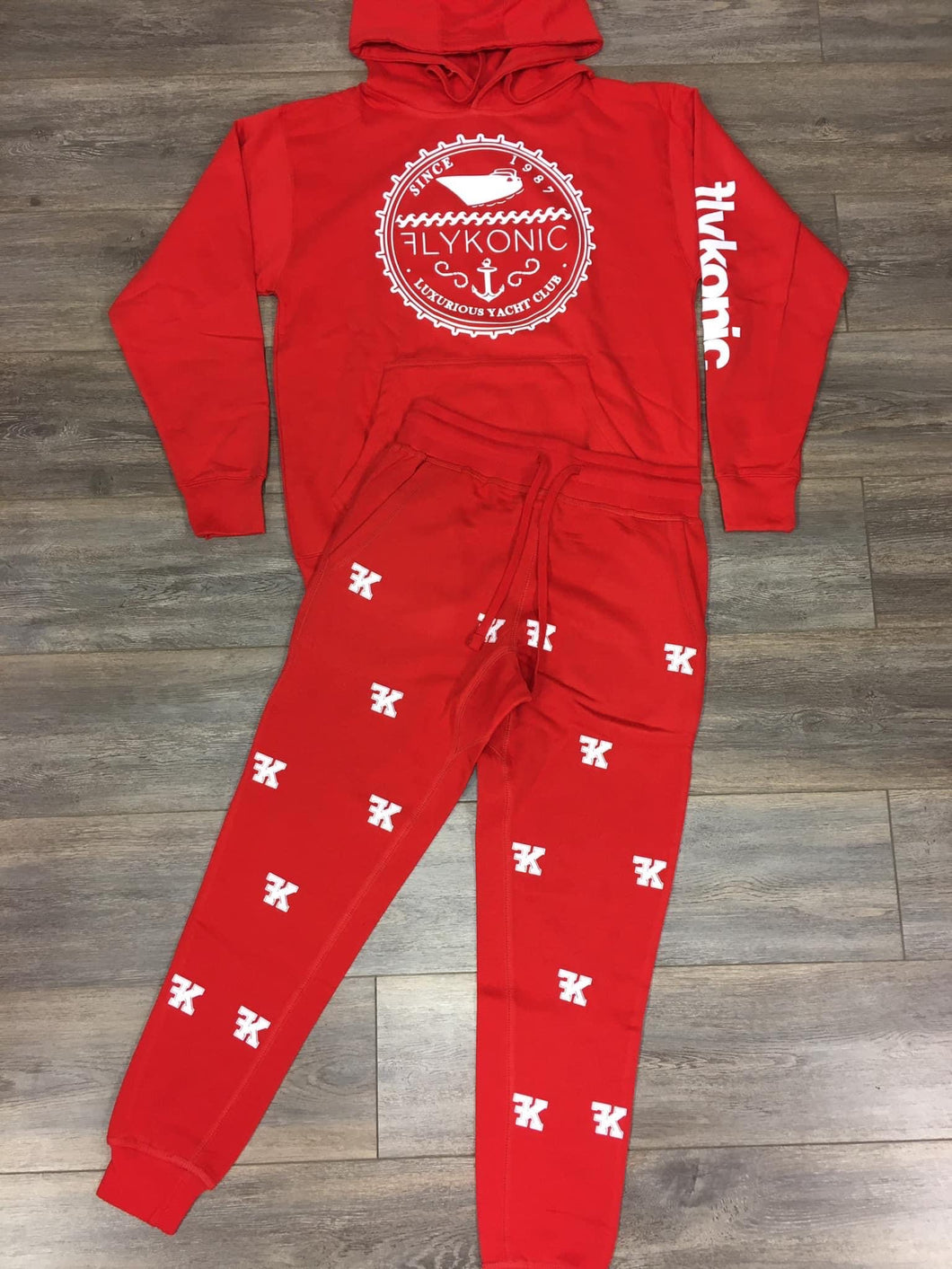 Yacht Club Hoodie with FK Sweatpants