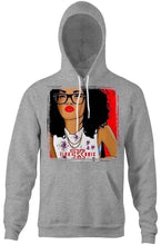 Load image into Gallery viewer, Flykonic Dope Chick Smart Girl Hoodie