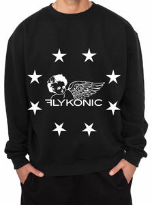 "Flykonic ""Star"" Long Sleeve T"