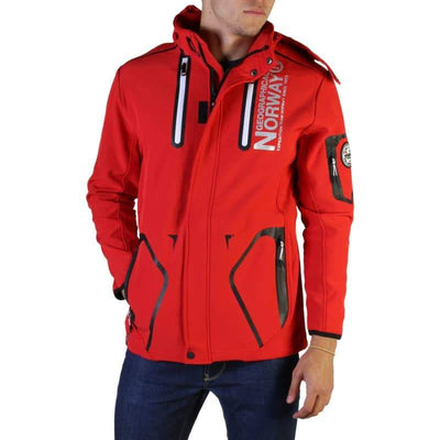 Geographical Norway - Tyreek_man - Rosso / S - Abbigliamento Giacche - Autunno-Inverno - Promo