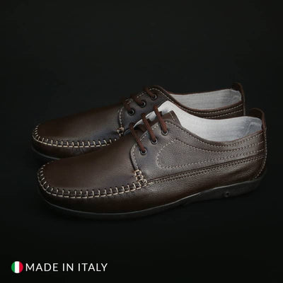 Morbidone - Mocassini in pelle - Marrone scuro / EU 39 - Scarpe Continuativi