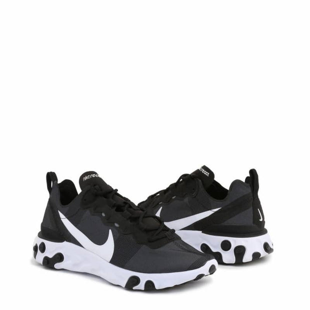Nike - React Element 55W - Scarpe Sneakers Continuativi - Donna - Nero - Promo