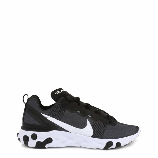 Nike - React Element 55W - Nero / US 6 - Scarpe Sneakers Continuativi - Donna - Promo