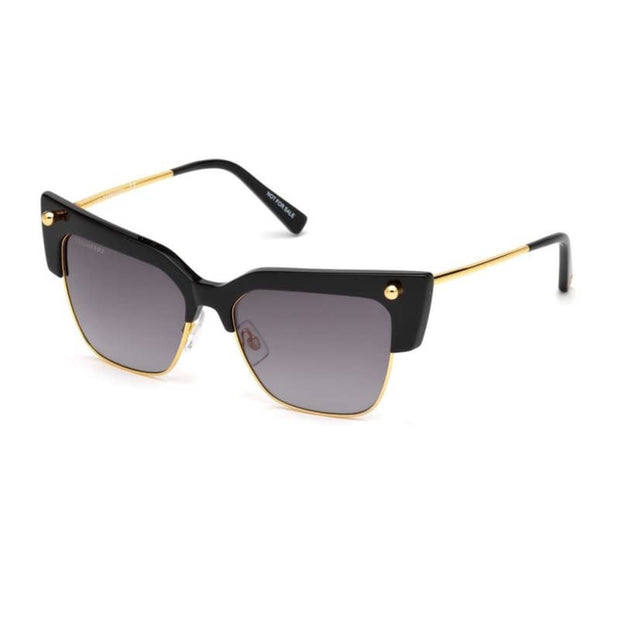 Occhiali da sole Dsquared2 - Donna - Nero / unica - Accessori - Blu - Marrone