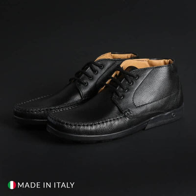 Off-box - Mocassini in pelle - Nero / EU 40 - Scarpe Continuativi