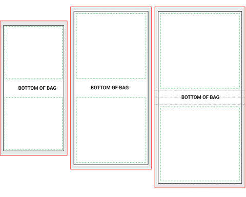 Tote Bag Blank Template Set