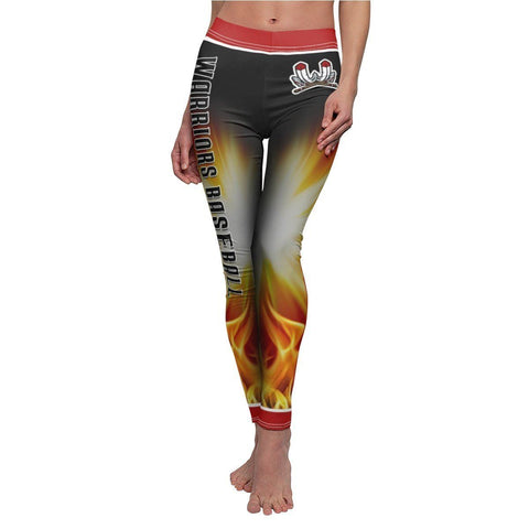 V1 - Burn - Women's Cut & Sew Casual Leggings - MGOPrint