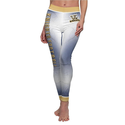 V1 - Metal - Women's Cut & Sew Casual Leggings - MGOPrint