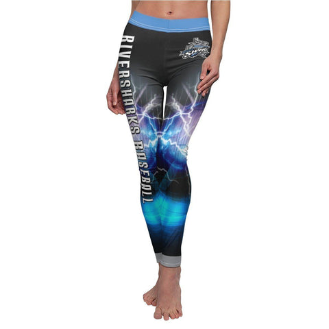 V2 - Hazardous - Women's Cut & Sew Casual Leggings - MGOPrint