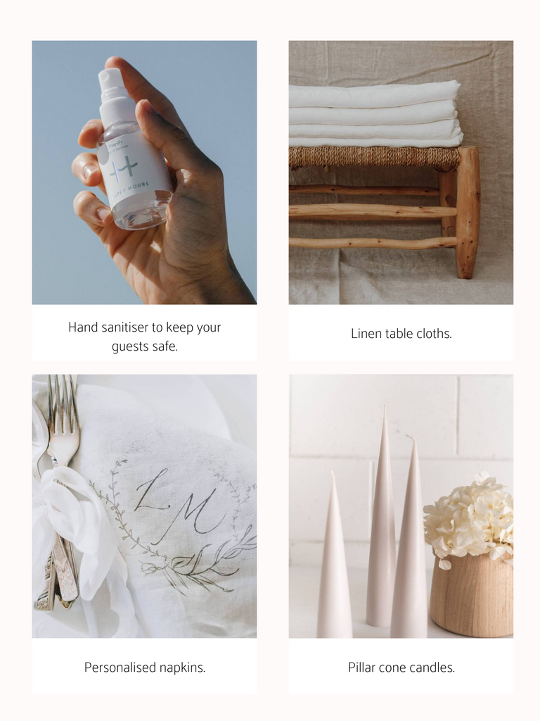 How to create your intimate wedding at home through COVID19