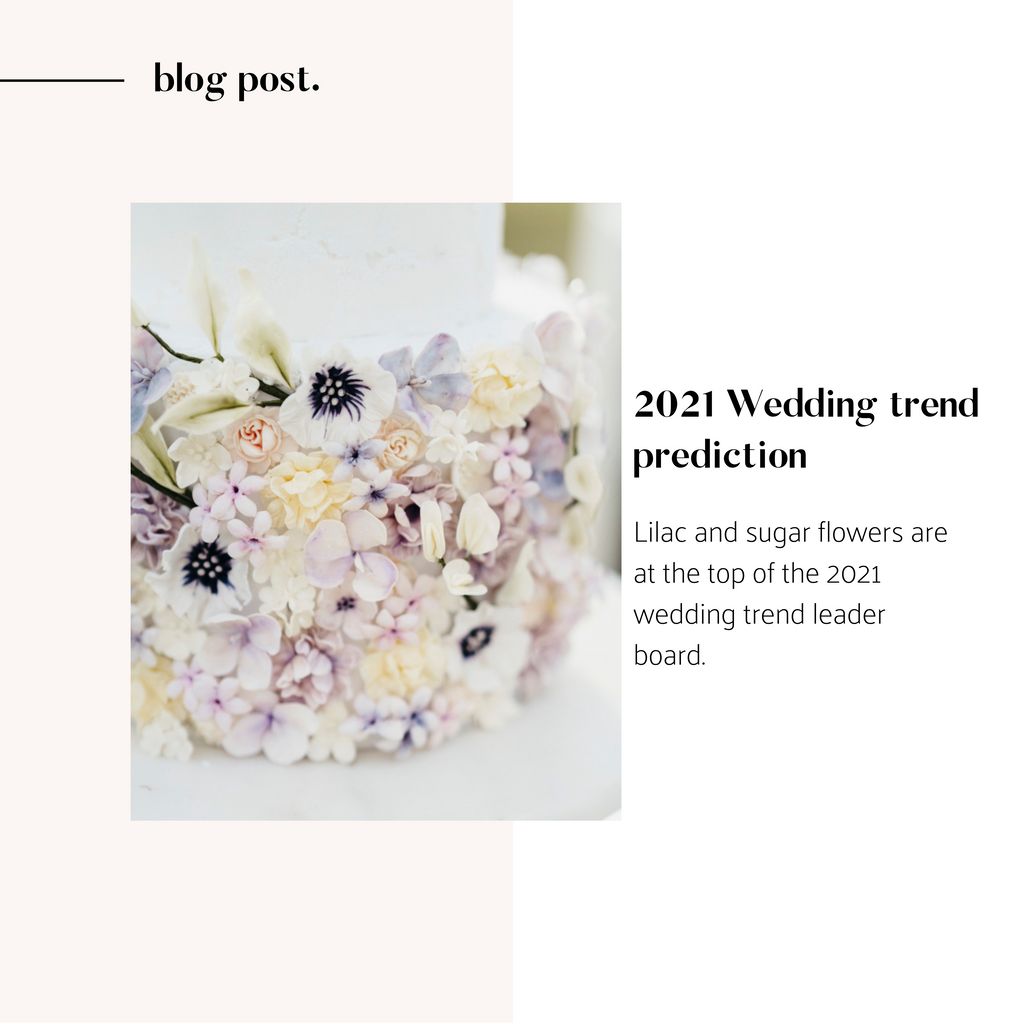 Wedding trends for 2021