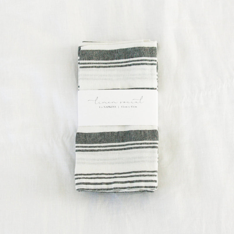 Grey French Stripe