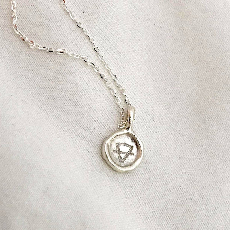 The Element Of Earth Pendant - Sterling Silver